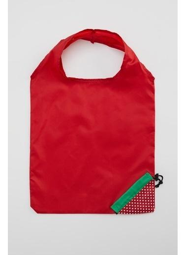 DeFacto Alışveriş Çantası Kırmızı